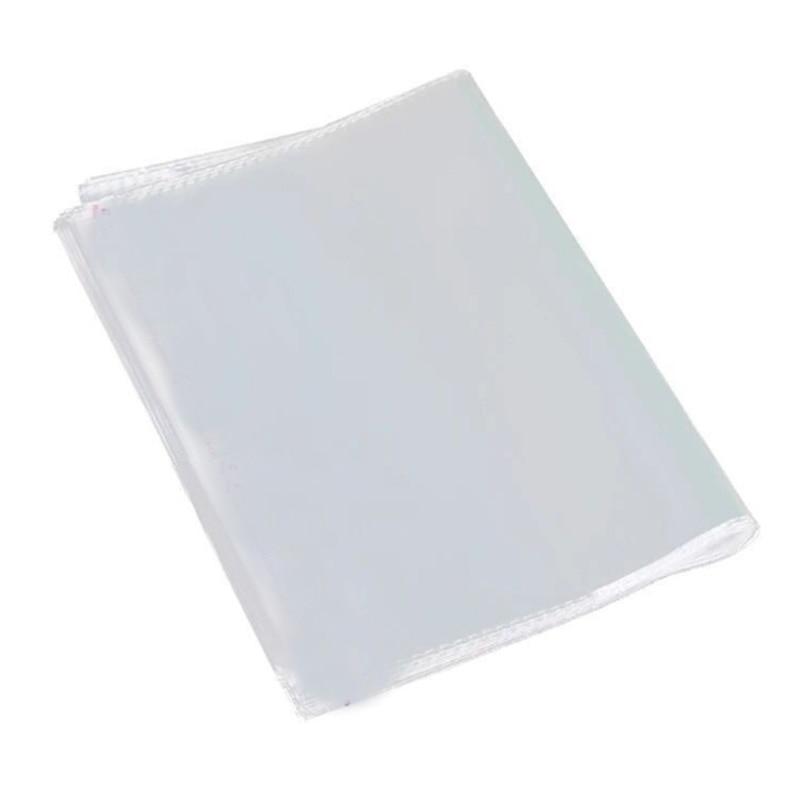 100Pcs LP Vinyl Record Bag 12 Inch Outer Bag Protective Sleeve Black Plastic Envelope Bag Vinyl
