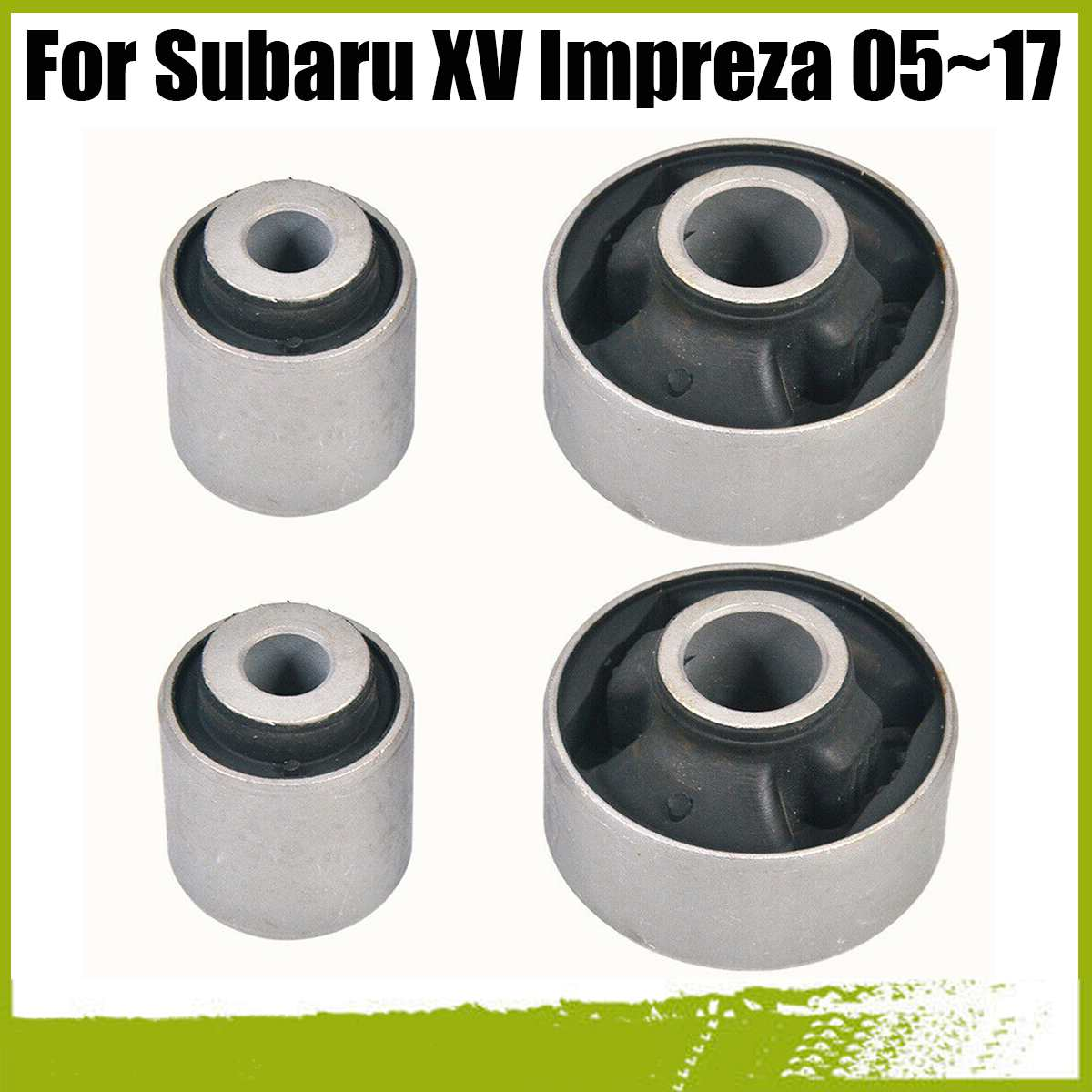 Ön alt kontrol kolu burç kiti 4 adet Subaru WRX için 14-18 Impreza 05-17 Legacy 03 -18 Forester 08-17 Outback 03-18 XV 12-17
