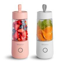 Мини портативная соковыжималка USB электрическая соковыжималка для фруктов ручной блендер для приготовления смузи перезаряжаемая чашка-соковыжималка для фруктов еда Proces