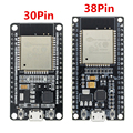 Макетная плата ESP32 1 шт., Wi-Fi + Bluetooth, сверхнизкое энергопотребление, два ядра, Φ ESP 32, аналогична ESP8266