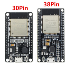 1 adet ESP32 geliştirme kurulu WiFi + Bluetooth Ultra düşük güç tüketimi çift çekirdekli ESP-32 ESP-32S ESP 32 benzer ESP8266