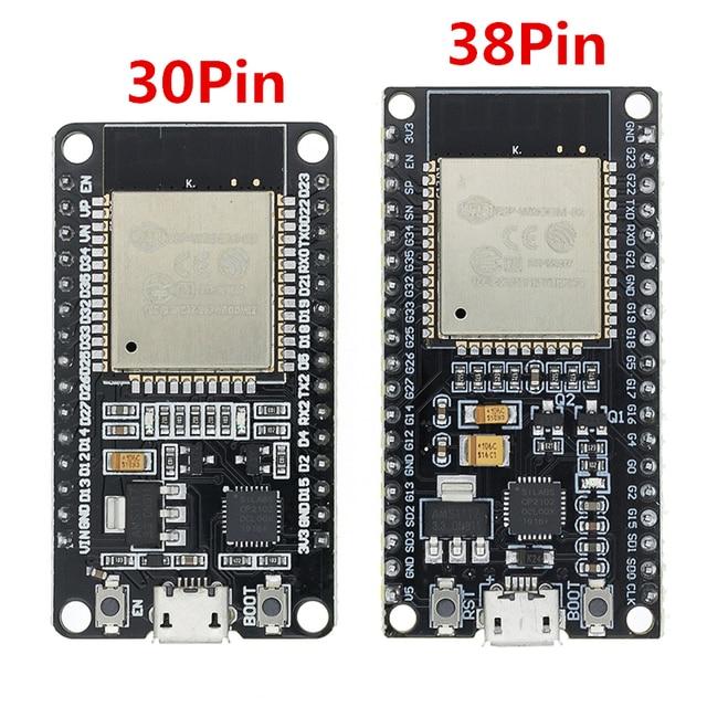 1PCS ESP32 Development Board WiFi+Bluetooth Ultra Low Power Consumption Dual Core ESP 32 ESP 32S ESP 32 Similar ESP8266