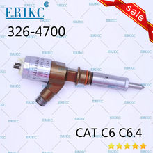 Inyector de combustible diésel CAT ERIKC 326-4700 d18m01y13p4752 CR pulverizador 326 4700 para motor diésel Caterpillar C6 C6.4 excavadora 320D