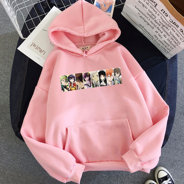 BUNGO STRAY DOGS THEMED HOODIE