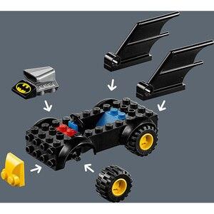 Image 2 - Lego DC Siêu Anh Hùng BATMAN VS Riddler Cướp Bộ Xây Dựng LEGO Ninjago LEGO Duplo Khối Xây Dựng 76137 Tự Làm Đồ Chơi Giáo Dục