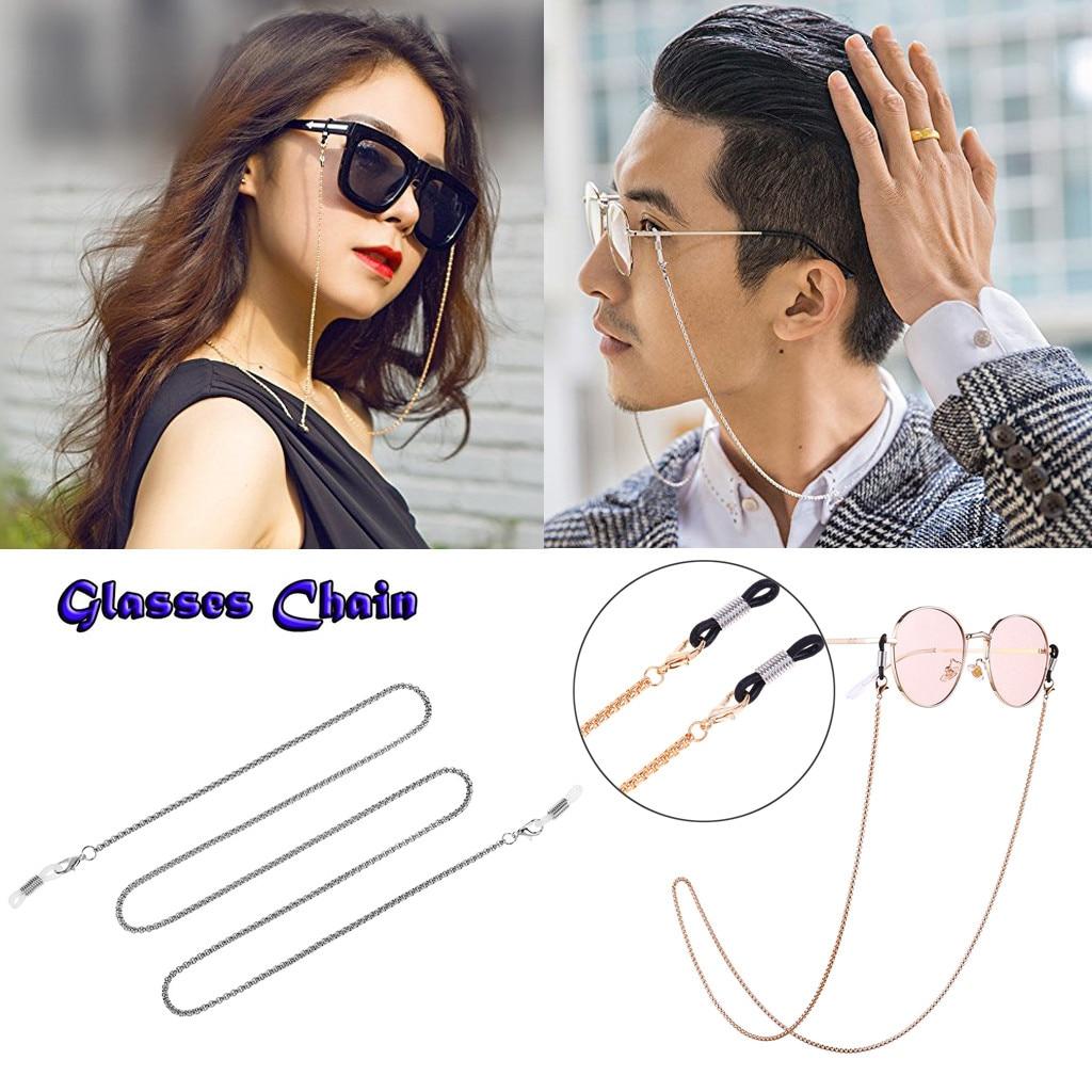Gold Fashion Glasses Chain Planet Glasses Chain Retro Metal Hanging Chains Men//Women Non-Slip Decor Jewelry