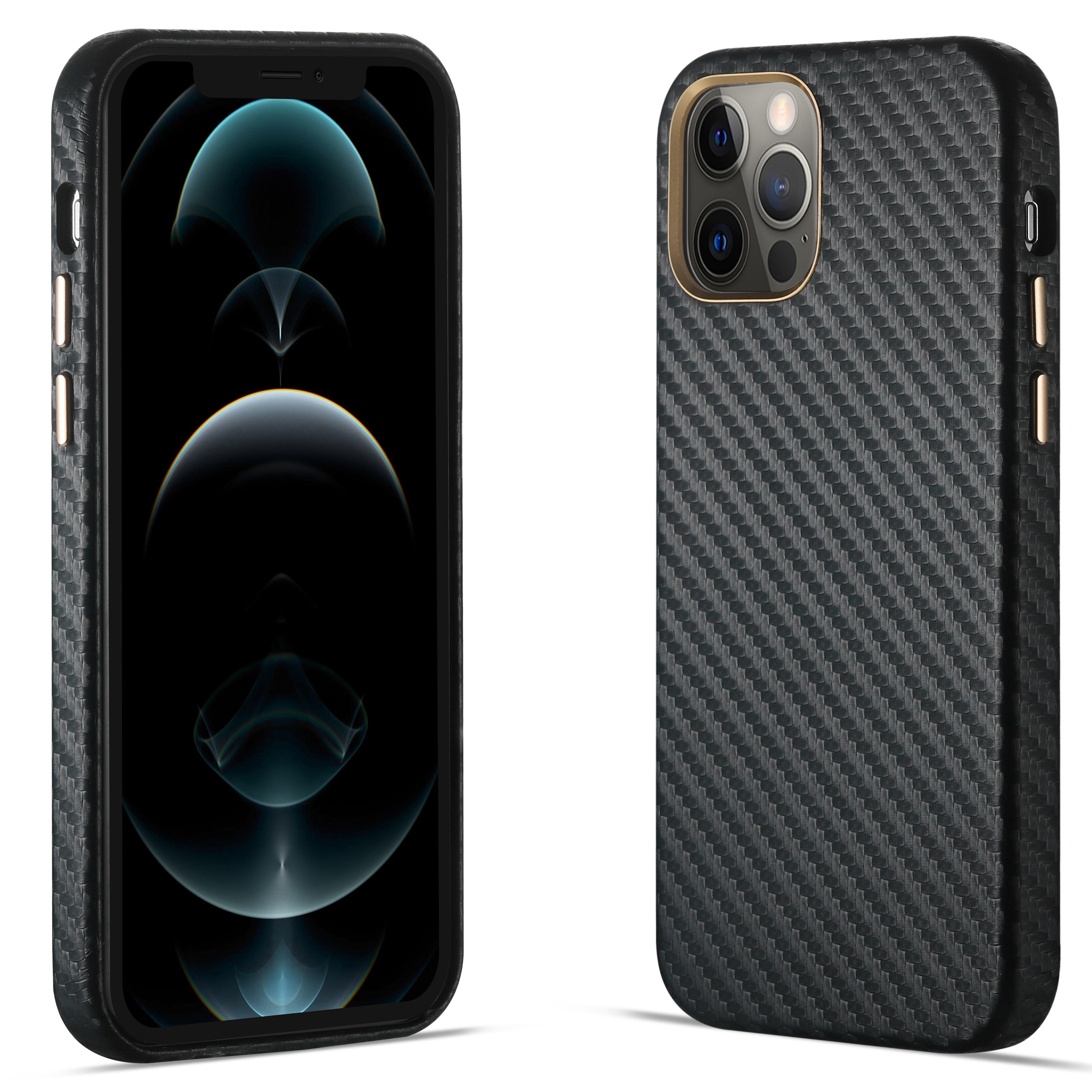 R-JUST полуобернутый из углеродного волокна для телефонов, чехол для iPhone 12 11 Pro Xs Max ультра-тонкий чистый чехол для iPhone X iPhone SE 7 8 плюс 2020 чехол