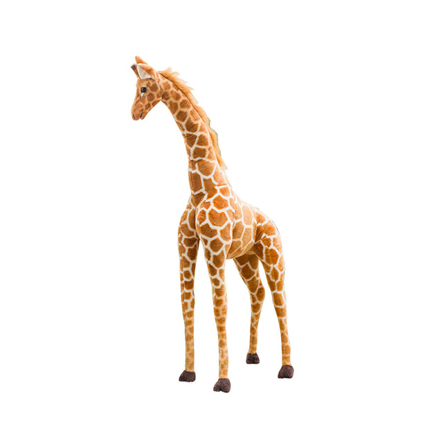 Big Plush Giraffe Plush Toy Doll Giant Large Stuffed Animal Soft Doll Kid Gift Huge Real Life Giraffe Plush Toys Birthday Gift