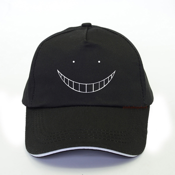 New Anime Assassination Classroom baseball cap Men Korosensei Dad hat 100%Cotton summer fashion Woman Cosplay snapback hats rick and morty new black dad hat crazy rick baseball cap american anime cotton embroidery snapback anime lovers cap men women