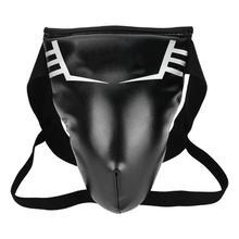 Мужской Протектор Паха эластичный PU Защита паха для тхэквондо боксерский бандаж протектор для спортзала детский Sanda боксерский защитный инструмент