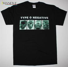 TYPE O NEGATIVE BAND COLOR FILM PETER STEEL CARNIVORE NEW BLACK T-SHIRT Mans Unique Cotton Short Sleeves O-Neck T Shirt