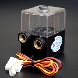 Image 3 - Насос водяного охлаждения Syscooling с резервуаром, без щеток, 12 В постоянного тока, для системы водяного охлаждения ПК