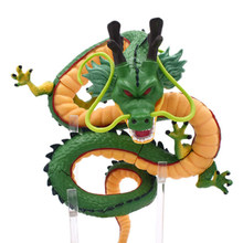 16cm Dragon Ball Z Action Figures Green Shenron Dragonball Z Figures Set Esferas Del Dragon Shelf Figuras Model Toy Collection(China)