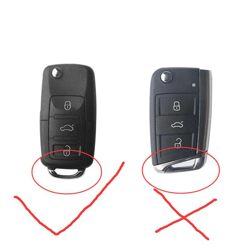 Чехол для автомобильного ключа для Volkswagen VW Passat Golf Jetta Bora Polo Sagitar Tiguan, чехол для автомобильного ключа