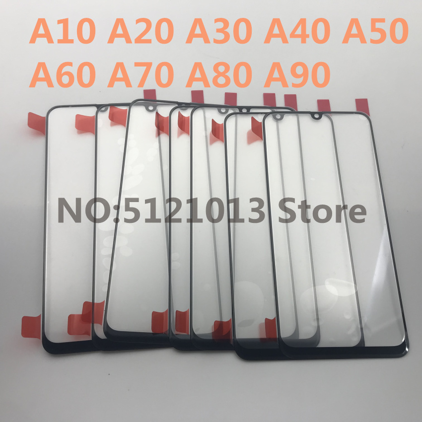 10pcs Original External Glass for Samsung Galaxy A10 A20 A30 A40 A50 A60 A70 A80 A90 2019 LCD Display Touch Screen Front Glass image