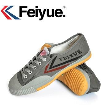 DafuFEIYUE buty szare buty oryginalne trampki mężczyźni kobiety buty sztuki walki Taichi Taekwondo Wushu klasyczne KungFu mężczyźni buty tanie i dobre opinie Unisex CN (pochodzenie) Skóra bydlęca latex Sznurowane Dobrze pasuje do rozmiaru wybierz swój normalny rozmiar Spring2019