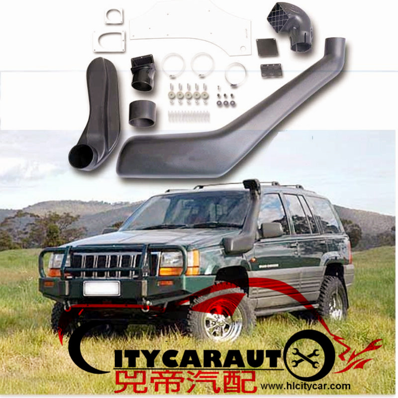 CITYCARAUTO SNORKEL KIT FIT FOR GRAND CHEROKEE ZG ZJ 1993-1998 AIR INTAKE PIPE MANIFOLD TUBE AUTO ACCESSORIES 4*4 SUV PARTS