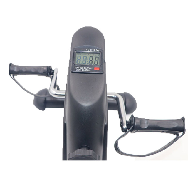 Fitness LCD Display Pedal Indoor Cycling Stepper Mini Exercise bike Home Exerciser  2
