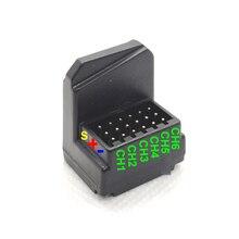 Dasmikro flysky互換と 6 チャンネルantennaless表面レシーバーためGT2B GT3B GT3C I6 I10 T6 CT6B TH9X