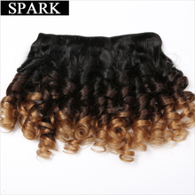 Loose Bouncy Curly Hair Weave Bundles