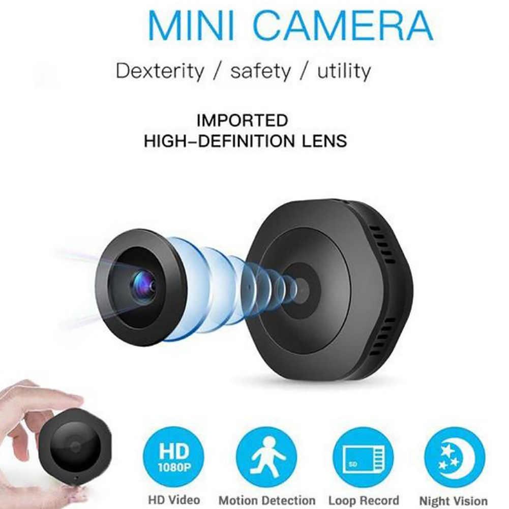 H6 1080P безопасности портативная Full HD домашняя камера обнаружения движения мини-камера фотографирования магазин магнитной адсорбции ночного видения USB
