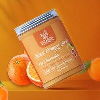 300ml Sweet Orange Body Scrub Cream for Scrubber Exfoliating Scrub to Stay Body Wash Cleansing Whitening Cream & Shrink Pores. 2