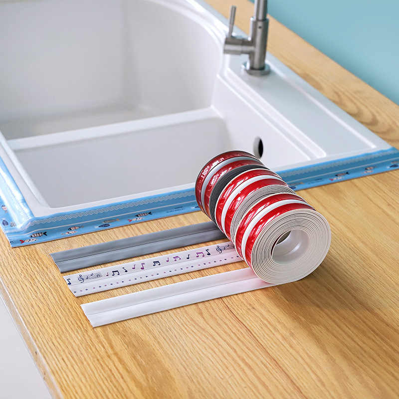 2446 segundo pegamento acrílico a prueba de moho cocina impermeable tanque de agua cuarto de ducha costura de goma barra cerca de la esquina pasta de rosca