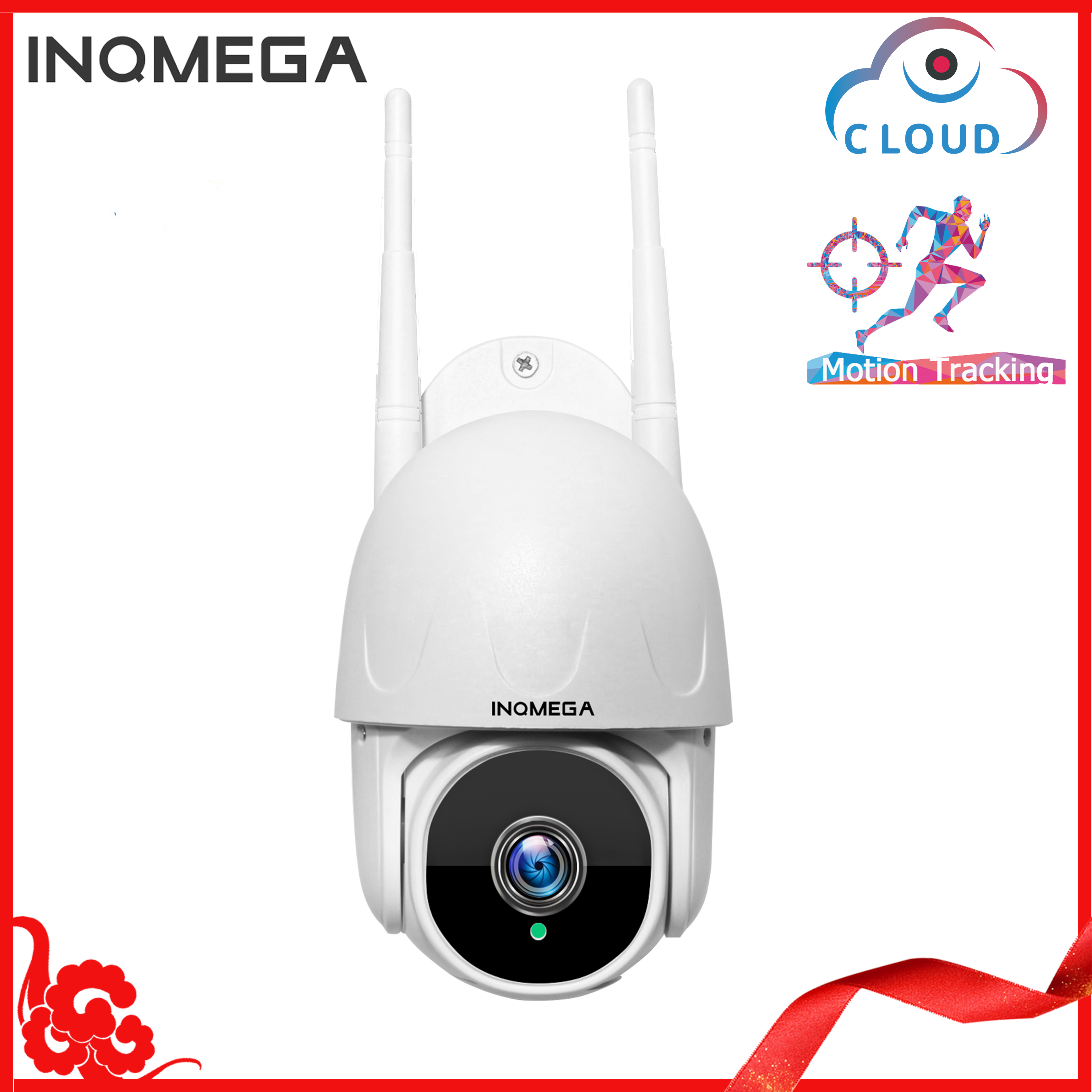 INQMEGA Wolke 1080P PTZ Speed Dome Wifi Kamera Outdoor 2MP Auto-Tracking Kamera ONVIF Drahtlose Kamera Home Überwachung IP Cam
