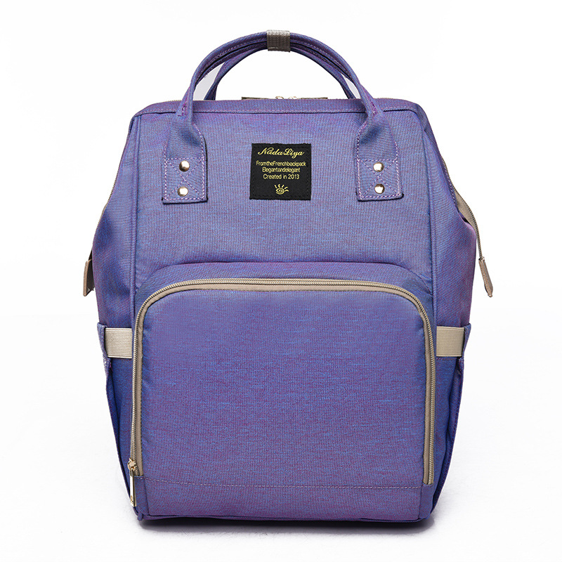Fashion Mummy Bag Large Capacity Stroller Bag Mom Baby Multi-function Waterproof Outdoor Travel Diaper Bag Wetbag Crossbodybag