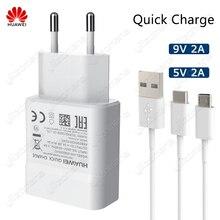 Huawei cargador Original de carga rápida para móvil, carga rápida USB de 5V/2A 9V/2A para Huawei P8 P9 Plus Lite Honor 8 9 Mate10 Nova 2 2i 3 3i