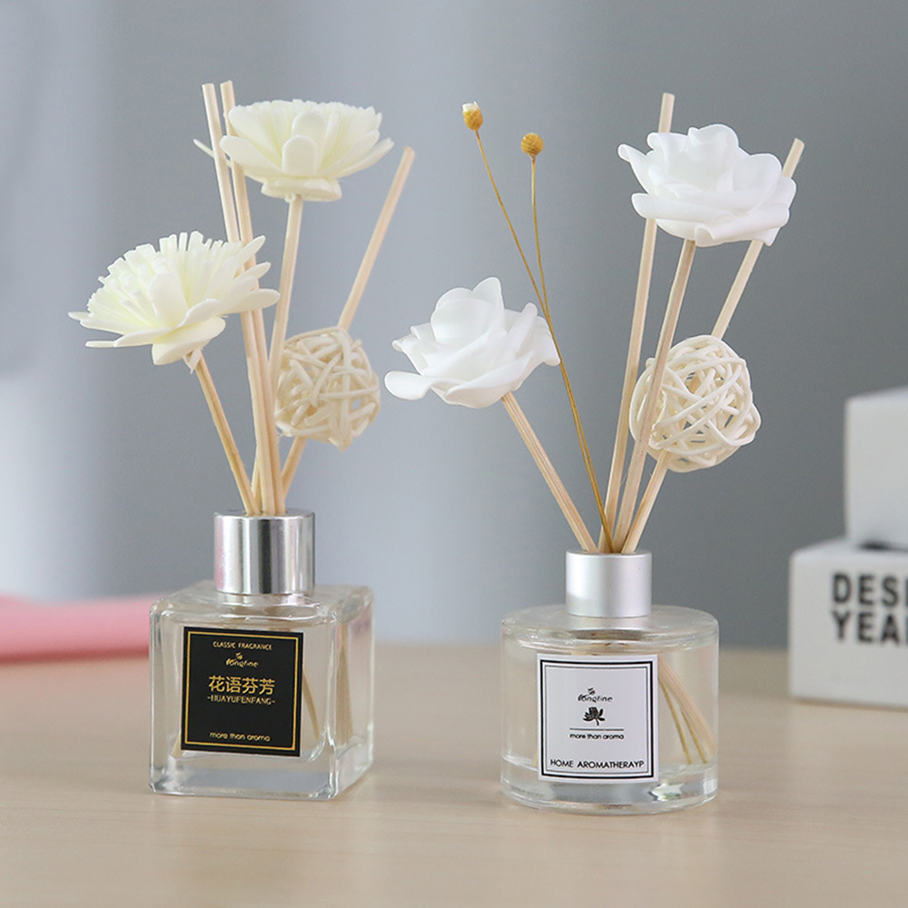 50Ml Home Fragrance Oil Rattan Reed Diffuser Room Perfume Aroma Essential 2019