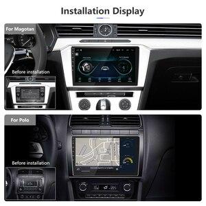 """Image 3 - Podofo 2din Autoradio 9 """"Android 2.5D Auto Lettore Multimediale di Navigazione GPS Wifi Mirrorlink Autoradio 2DIN Stereo Universale Per Auto"""