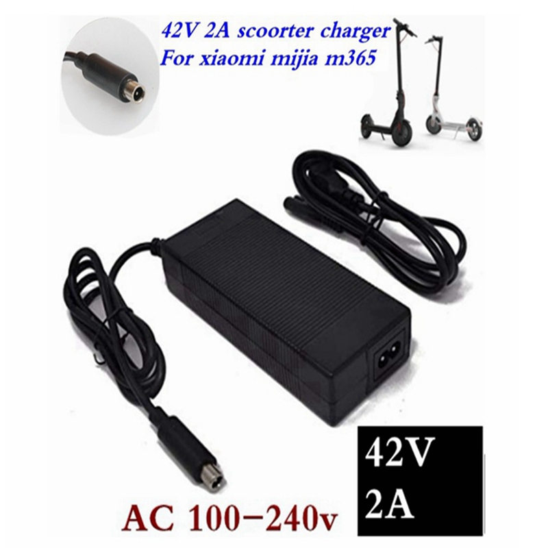 42V 2A  Lowest Price Electric Scooter Charger Adapter For Xiaomi Mijia M365 Ninebot Es1 Es2 Electric Scooter Accessories Charger