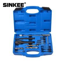 Ferramenta removedora de brilho, reparo de rosca, chave de broca, kit de ferramenta extratora de vela, 8mm 10mm sk1095