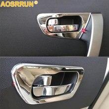 Für Nissan Qashqai J10 2007 2008 2009 2010 2011 2012 Auto Zubehör ABS chrome interior trim türen hand dekoration Abdeckung
