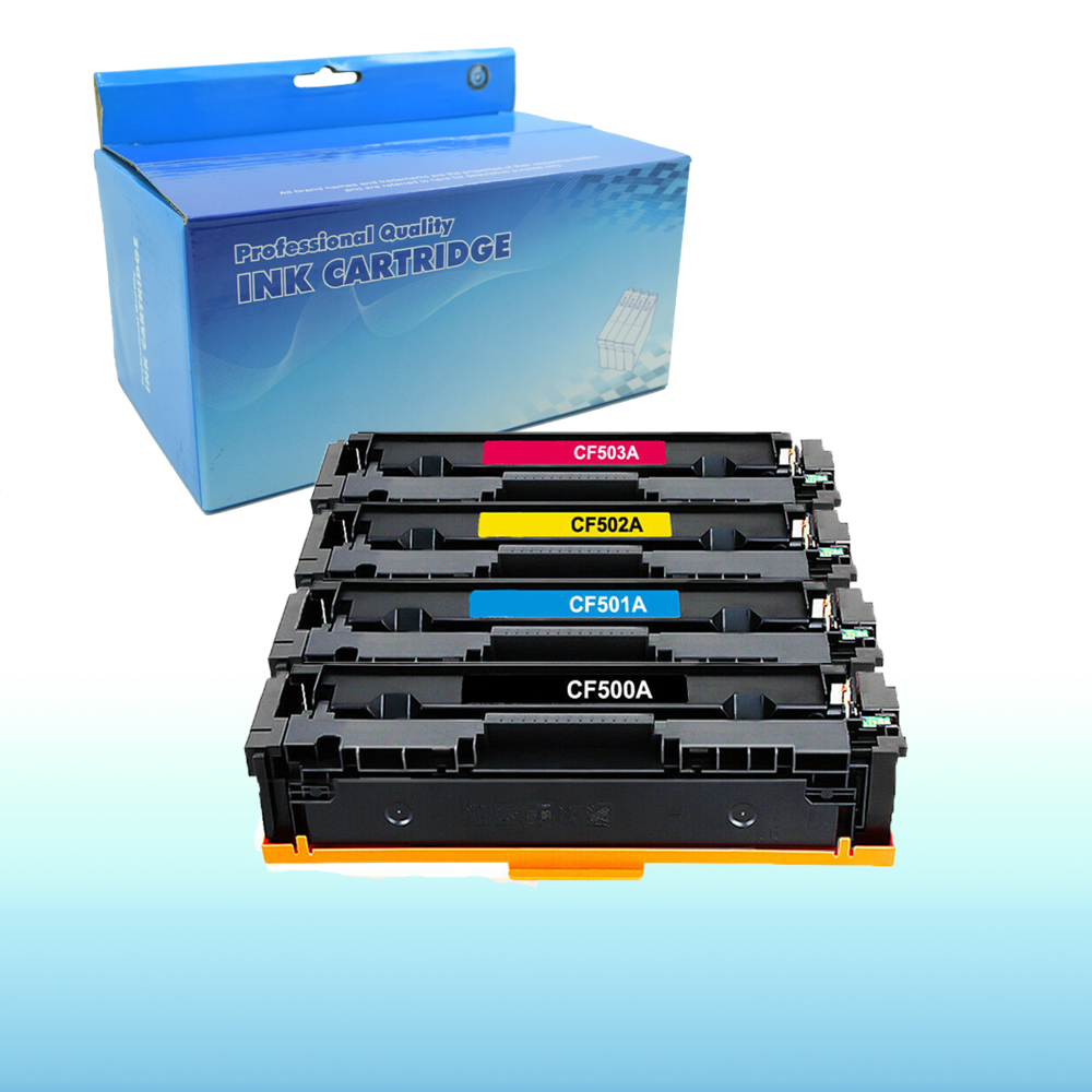 8PK CF500A for HP 202A High Yield HP Color Laserjet Pro M254dw MFP M281cdw Toner