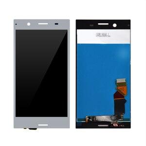 Image 4 - الأصلي lcd لسوني اريكسون XZ قسط LCD تعمل باللمس رقمنة الزجاج لوحة الجمعية مع الإطار شحن مجاني