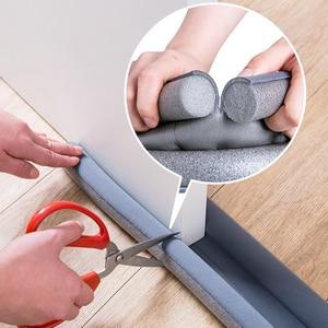 93*10 Cm Under Door Draft Guard Stopper Soundproof Seal Strip Reduce Noise Dust Door Bottom Sealing Weather Strip Tape Durable