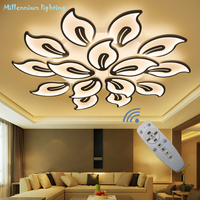 LED chandelier living room bedroom dining Study room light Acrylic led Chandelier lamp fixtures Dimming Home Decor Free shipping|Ceiling Lights| |  -