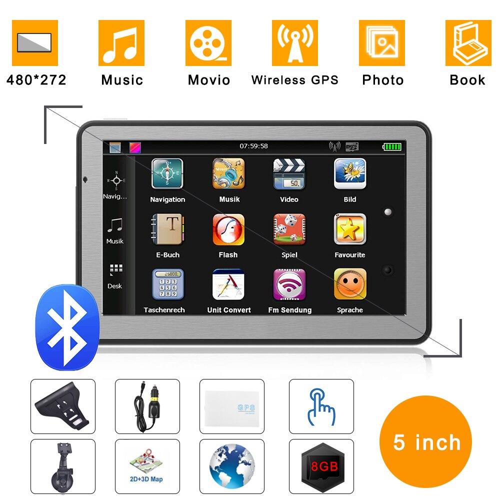 Автомобильная GPS-навигация, Портативный FM-передатчик с 5