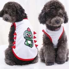 Весенне летняя новая одежда для собак дышащий сетчатый жилет