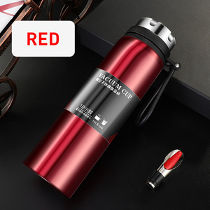 Image 3 - YIHAO 1000ML Hot Sale Double Wall Thermos Bottle Stainless Steel Vacuum Outdoor Large capacity Portable Travel Thermoses Flasks
