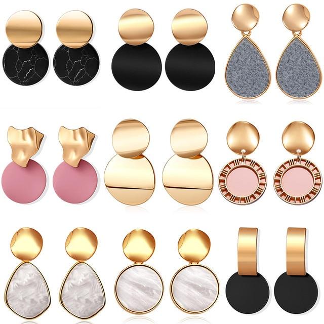 Fun geometric earring 2