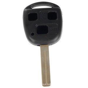 Image 4 - Carcasa para llave remota de coche, 3 botones, hoja corta, compatible con Lexus SC430 GX470 RX350 RX400h ES330 GS300 GS430 LS430
