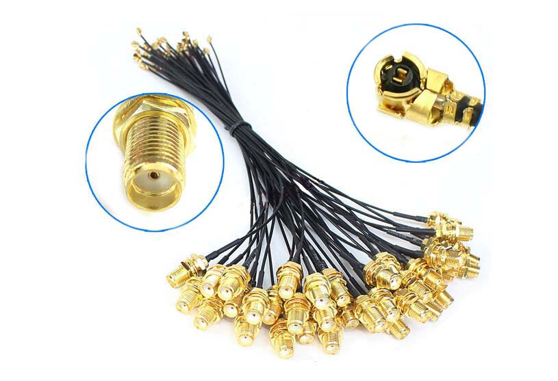 Dlenp 5 Pieces SMA Jack Female To U.fl/IPX Pigtail Cable For PCI Wifi Card Wireless Router