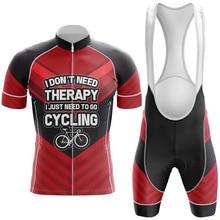 цена на Cycling Jersey Set Men Short Sleeve Bike Clothing Summer Red Bicycle Wear Set Mtb Road Clothes Maillot Ropa Ciclismo Bib Shorts
