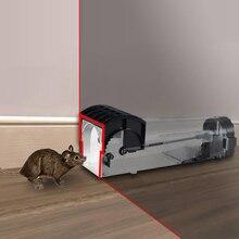 Smart Humane Live Mouse Trap No Kill Animal Pet Control Cage Reusable Mice Rodent Catcher Automatic Lock Mousetrap Rat Traps