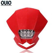35 Вт светодиодный головной светильник supermoto dirt bike головного