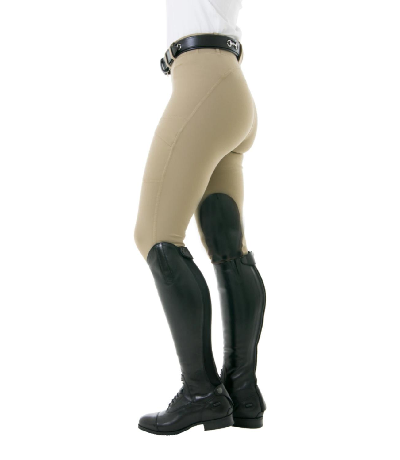 Noble Women's Horse Riding Pants Breeches Equestrian Chaps Pants Silicone Full Seat Women Horse Riding Tight Leggings USA Size 1