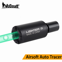 Airsoft Auto Tracer Lighter S Tracer Unit For Pistol Green Smallest Lightest Tracer Unit Handgun Airsoft Hunting Gun Accessories